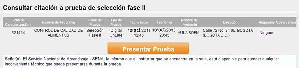 """""""En SOFIA PLUS presentación pruebas web"""""""